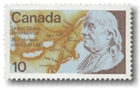 Ben Franklin Canadian Issue