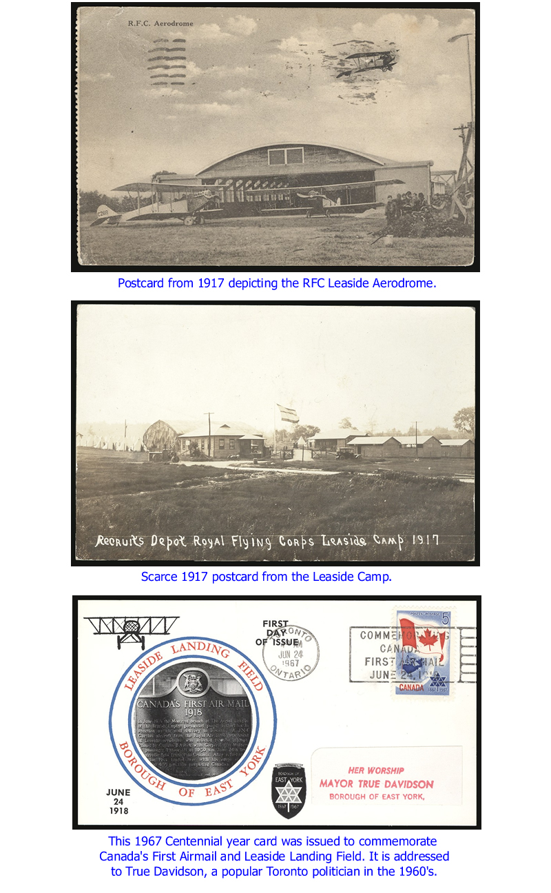 First Airmail cards