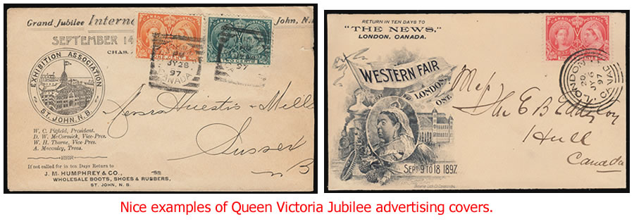 QV Jubilee Covers