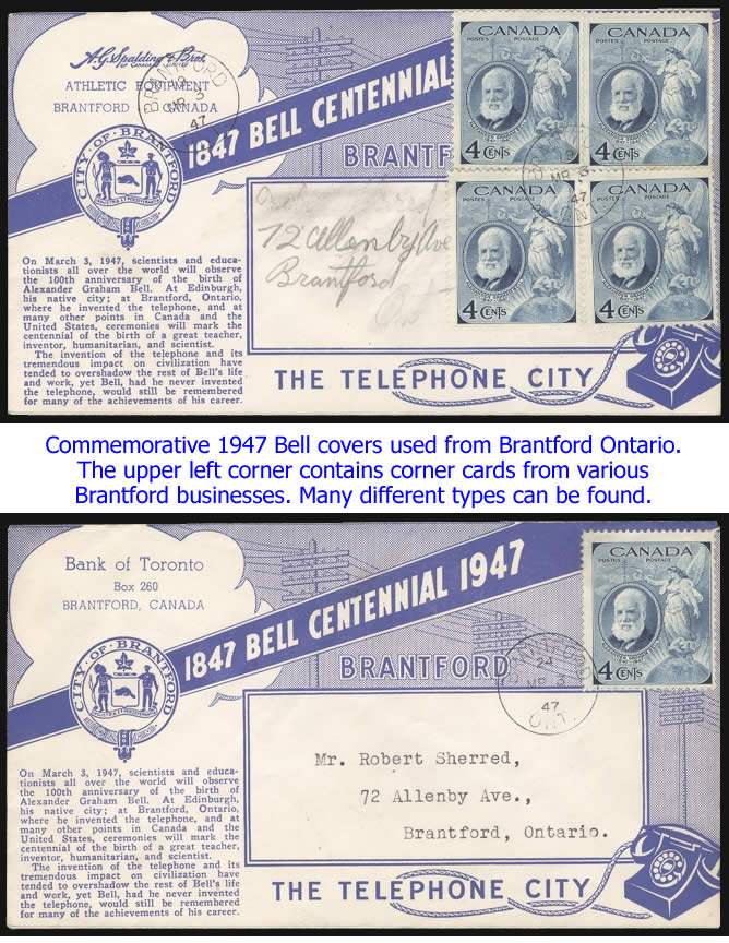 Bell covers