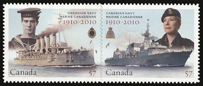 Canada Post 100th Anniversary of Navy