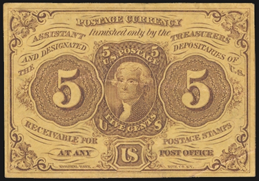 US Postage Currency